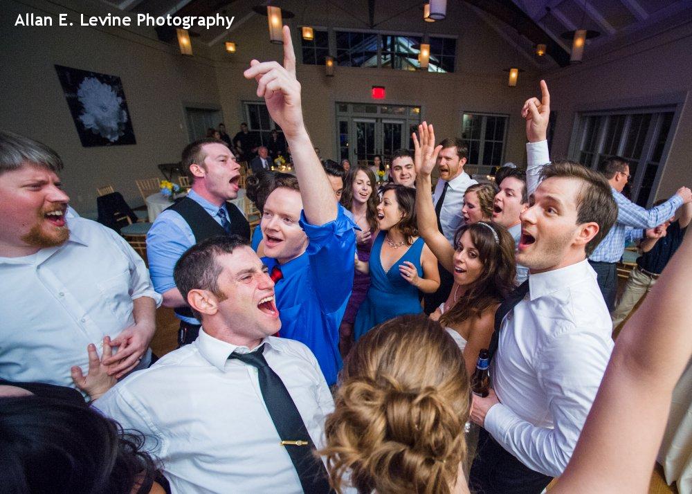 Hudson Valley Wedding DJ Bri Swatek Dance Party Locust Grove Allan E Levine Photography 1000