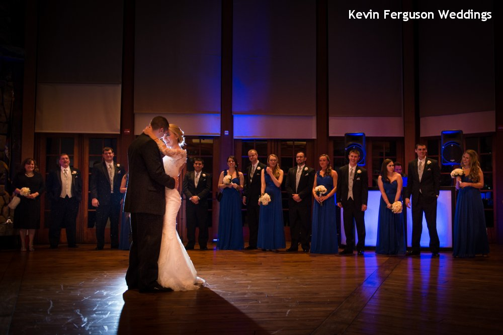 Hudson Valley Wedding DJ Bri Swatek First Dance Bethel Woods Kevin Ferguson