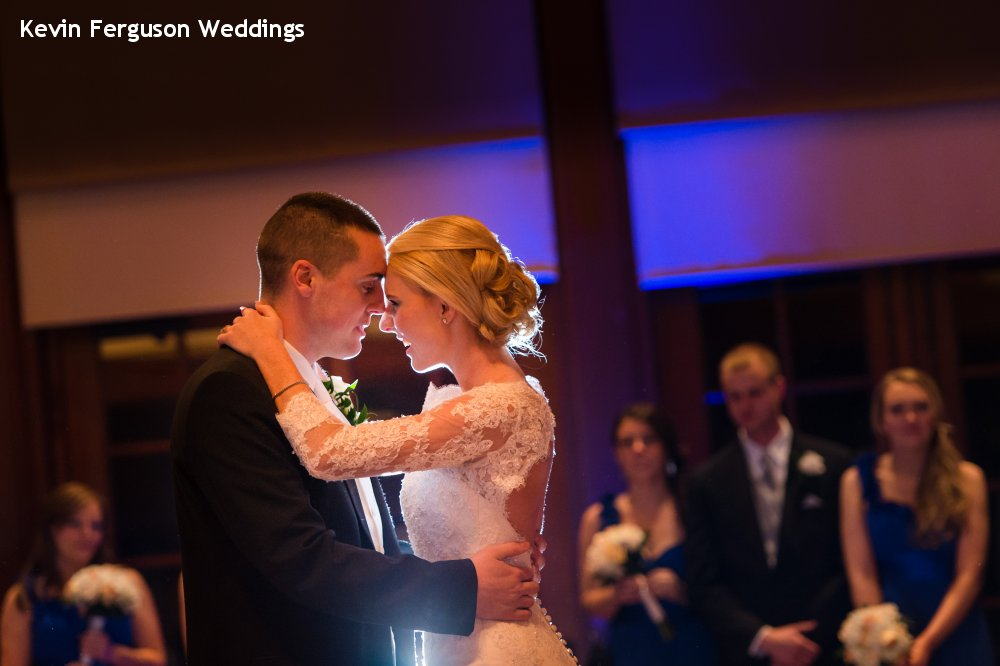 Hudson Valley Wedding DJ Bri Swatek First Dance Close Up Bethel Woods Kevin Ferguson
