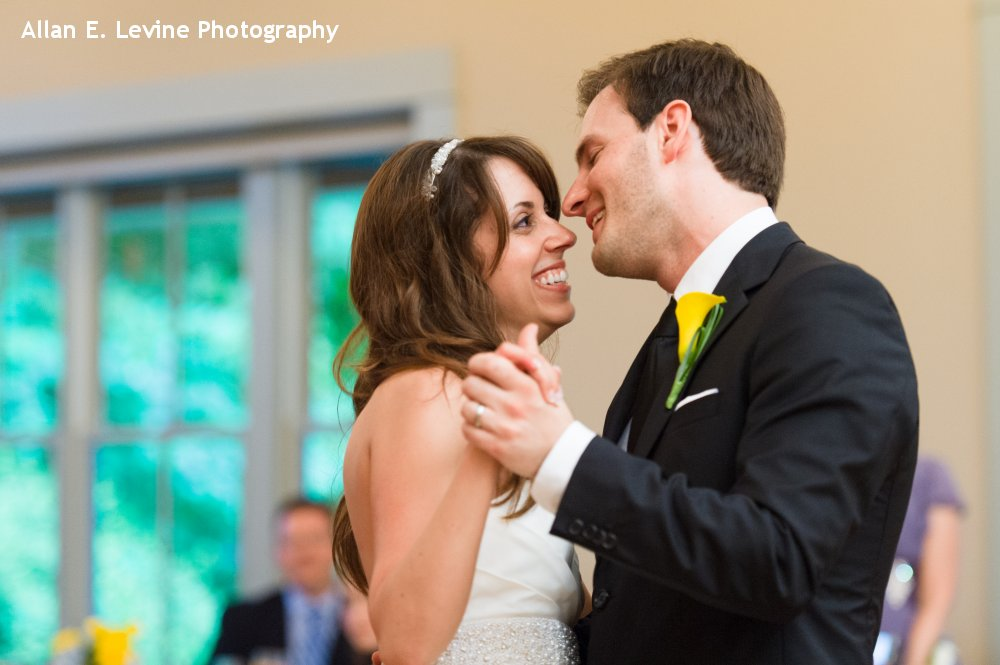 Hudson Valley Wedding DJ Bri Swatek First Dance Locust Grove Allan E Levine Photography 1000
