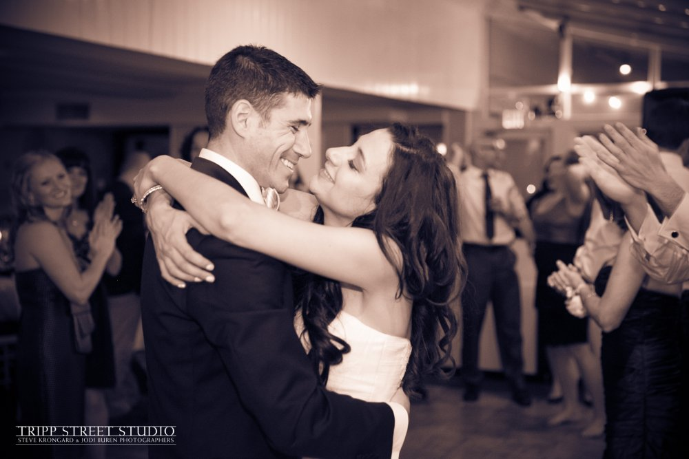 Hudson Valley Wedding DJ Bri Swatek First Dance Tripp Street Studio Crabtree's Kittle House