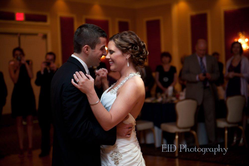 Hudson Valley Wedding DJ Bri Swatek Grandview First Dance EID Photography