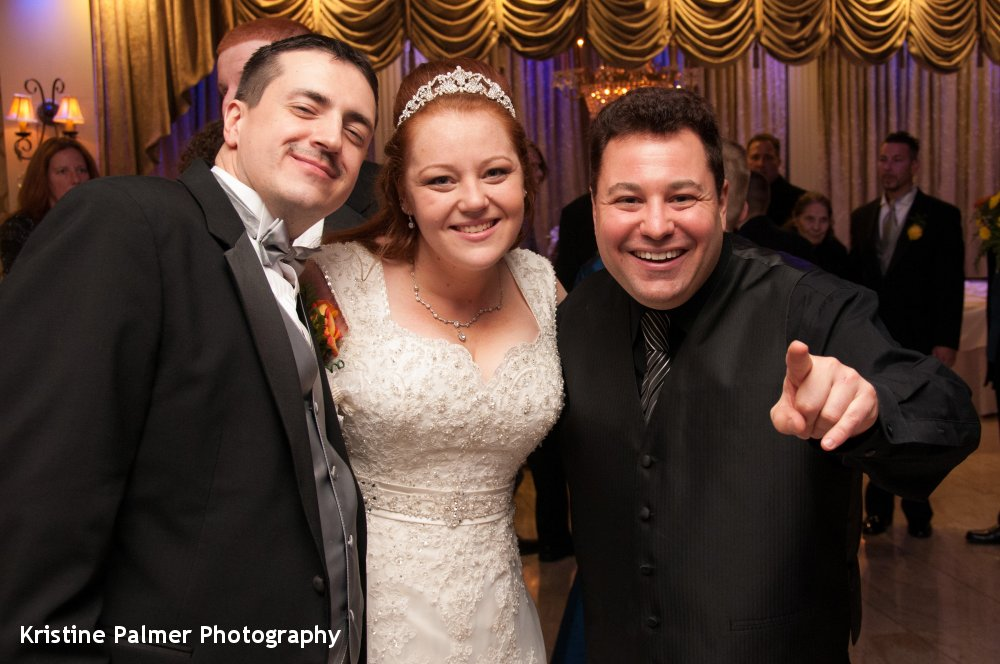 Hudson Valley Wedding DJ Bri Swatek Last Dance Villa Borghese Kristine Palmer Photography