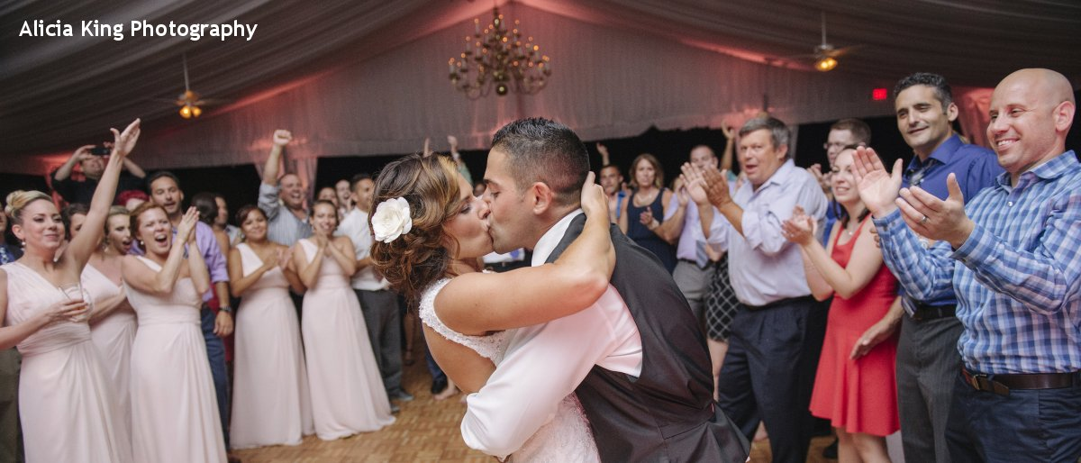 Hudson Valley Wedding DJ Bri Swatek Last Dance at the Grandview Courtesy of Alicia King Photography