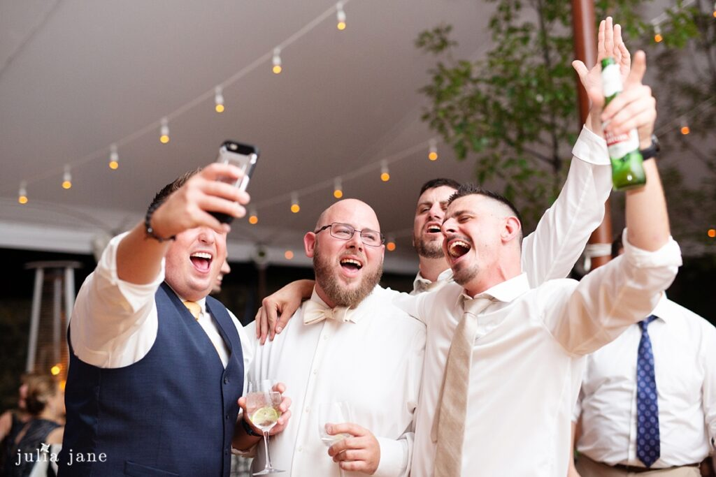 Hudson Valley Wedding DJ Bri Swatek Dance Party 2 Red Maple Vineyard Julia Jane Studios KDMM