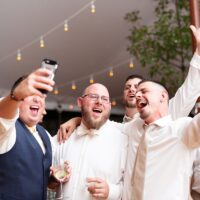Hudson Valley Wedding DJ Bri Swatek Dance Party 1 Red Maple Vineyard Julia Jane Studios KDMM