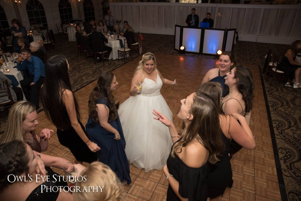 Hudson Valley Wedding DJ Bri Swatek Dance Party Grandview Owls Eye Studios CBSF
