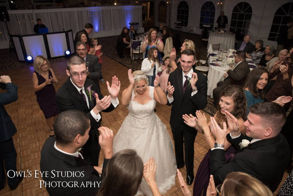 Hudson Valley Wedding DJ Bri Swatek Dance Party Grandview Owls Eye Studios SBCP