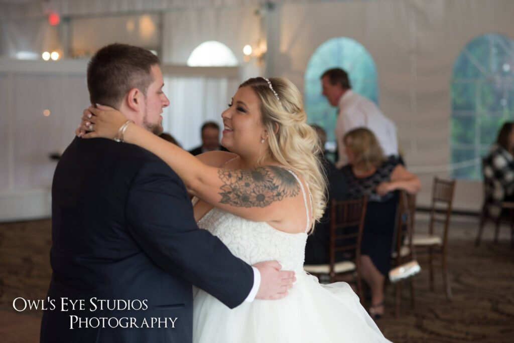 Hudson Valley Wedding DJ Bri Swatek First Dance Grandview Owls Eye Studios CBSF