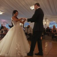 Hudson Valley Wedding DJ Bri Swatek First Dance Preston Films West Hills Country Club SKRM