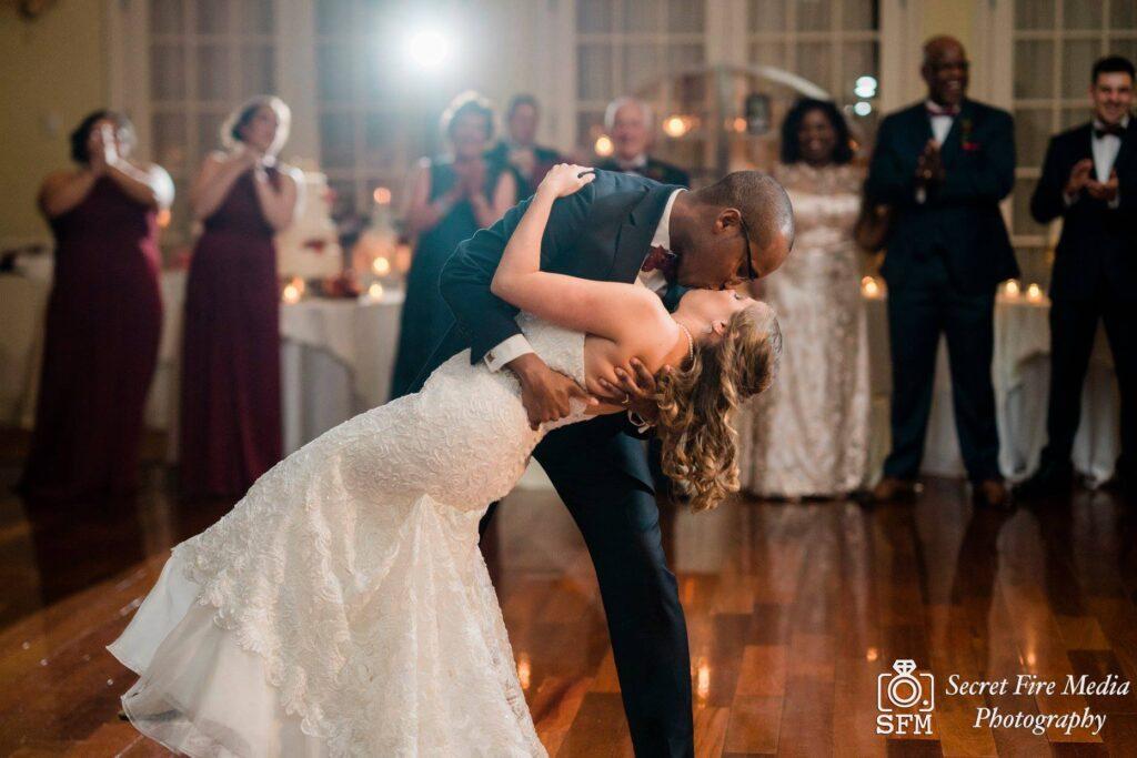 Hudson Valley Wedding DJ Bri Swatek First Dance Secret Fire Media Grandview MCRA