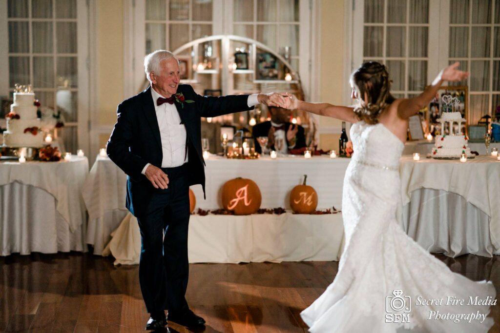 Hudson Valley Wedding DJ Bri Swatek Parent Dance 1 Secret Fire Media Grandview MCRA