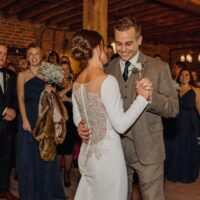 Hudson Valley Wedding DJ Bri Swatek First Dance Dawn Honsky Saugerties Steamboat Co MHDK