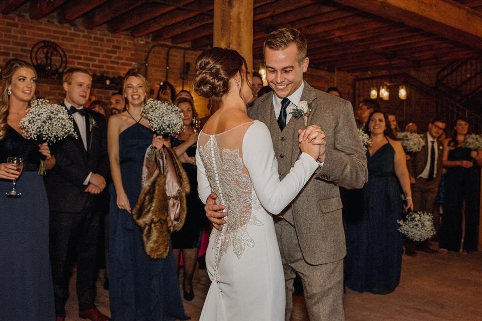 Hudson Valley Wedding DJ Bri Swatek First Dance Dawn Honsky Saugerties Steamboat Co MHDK