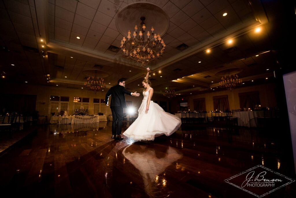 Hudson Valley Wedding DJ Bri Swatek Grandview J Benson Photography First Dance 1 VBRB