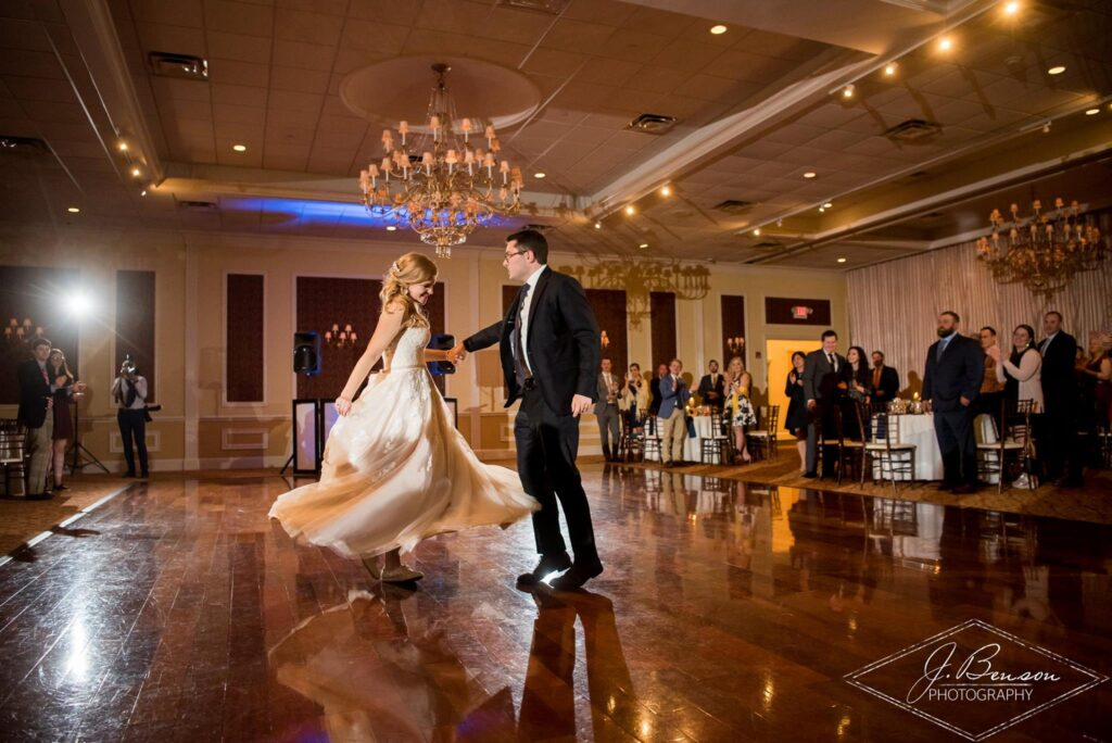 Hudson Valley Wedding DJ Bri Swatek Grandview J Benson Photography First Dance 2 VBRB